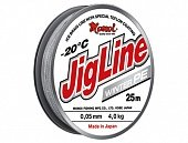 Шнур JigLine Winter 0,18 мм, 14 кг, 25 м, серый